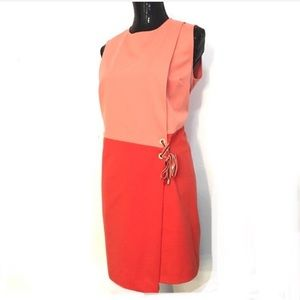 NWT Ted Baker color block dress. Size 3 (large) C0